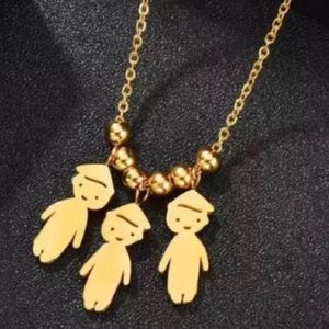 Family/ Best Friends Stainless Steel Necklace